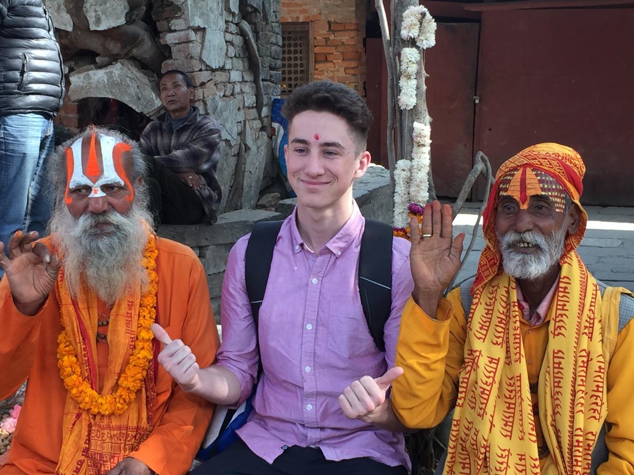 Cross cultural experience in Kathmandu